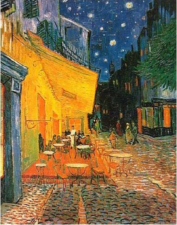 Van Gogh Cafe Terrace at Night