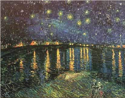 Starlight over the Rhone