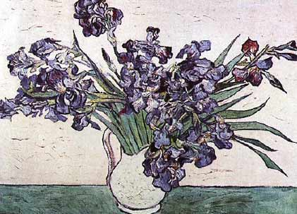 Van Gogh - Vase of Irises